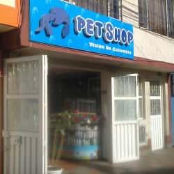 Pet Shop Visión de Colombia en Bogotá