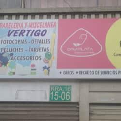 Papeleria Y Miscelanea Vertigo en Bogotá