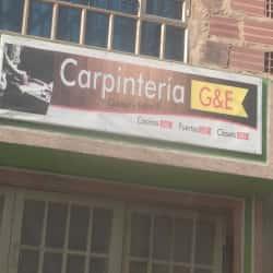 Carpintería G&E en Bogotá