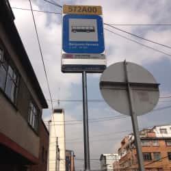 Paradero SITP Barrio Benjamín Herrera - 574A00 en Bogotá