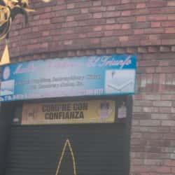 Muebles y Colchones El Triunfo en Bogotá