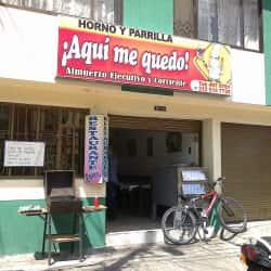 ¡Aquí me quedo! en Bogotá