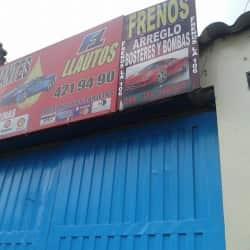 Lubricantes F1 Llautos en Bogotá