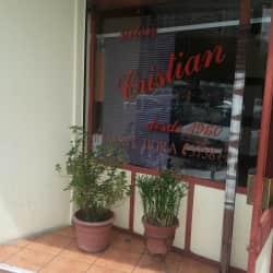 Cristian Arias studio en Santiago