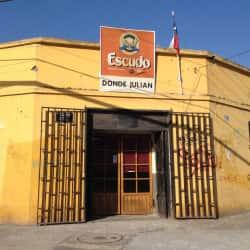 Donde Julián Bar en Santiago