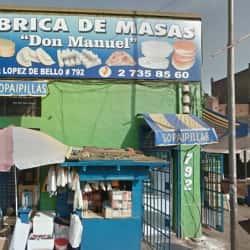 Don Manuel Fábrica de Masas  en Santiago