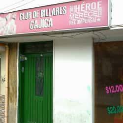 Club de Billares Cajica  en Bogotá