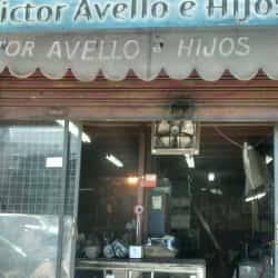 Victor Avello e hijos en Santiago