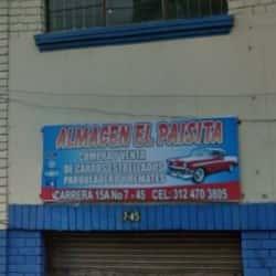 Almacén el Paisita en Bogotá