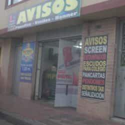 Avisos impresiones en Bogotá