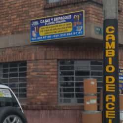 Cajas y Empaques Puente Aranda en Bogotá