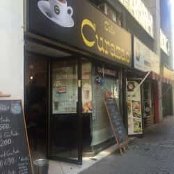 Café Curazao en Santiago