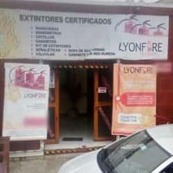 Extintores lyonfire en Santiago