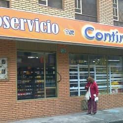 Autoservicio Continental en Bogotá