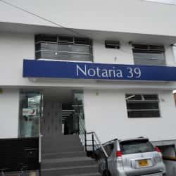 Notaría 39 - Calle 119 en Bogotá
