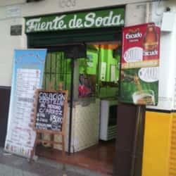 fuente de soda en Santiago