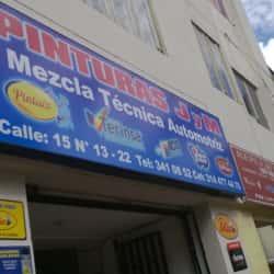 Pinturas JM Mezcla Técnica Automotriz  en Bogotá