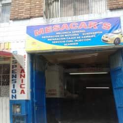 Mesacar's en Bogotá