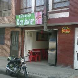 Restaurante Don Javier en Bogotá