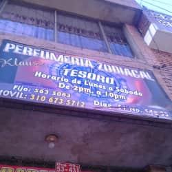 Perfumería Zodiacal Tesoro en Bogotá