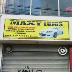 Maxi Lujos en Bogotá