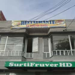 Restaurante La Gota De Aceite en Bogotá