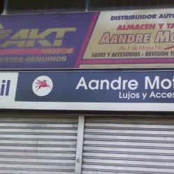 Aandre Motos M&J en Bogotá