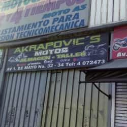 Akrapovic's Motos  en Bogotá