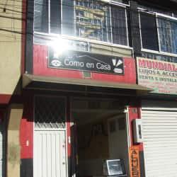 Como En Casa Carrera 91 en Bogotá