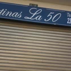 Cortinas La 50 en Bogotá