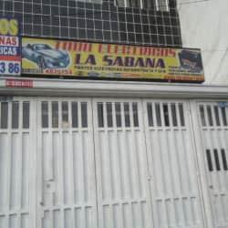 Todo Eléctricos La Sabana en Bogotá