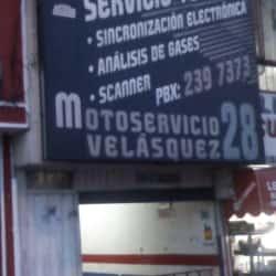 Motoservicio Velasquez 28 en Bogotá