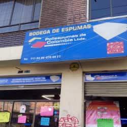 Bodega de Espumas en Bogotá