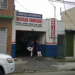 Servicio Automotriz Nicolas Cardozo en Bogotá