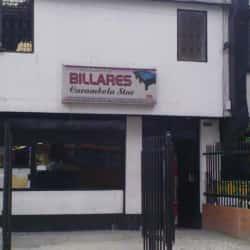 Club Mixto de Billares Carambola en Bogotá