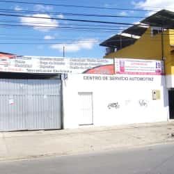 Centro de servicio Automotriz Automarcas en Bogotá