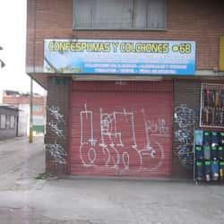 Confespumas y Colchones Punto 68 en Bogotá