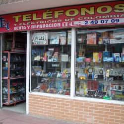 Teléfonos en Bogotá