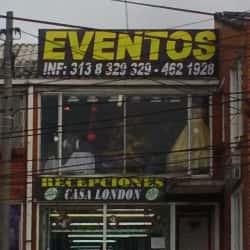 Recepciones Casa London en Bogotá