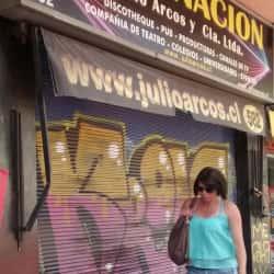 Iluminacion Julio Arcos en Santiago