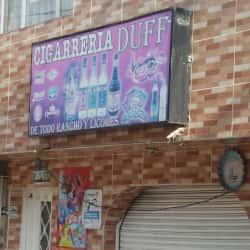 Cigarrería Duff  en Bogotá