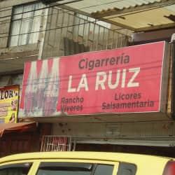 Cigarreria La Ruiz en Bogotá