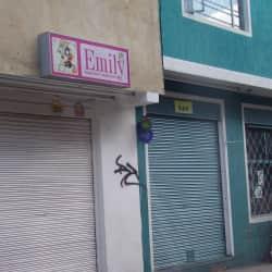 Emily Pañalera en Bogotá