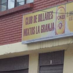 Club De Billares Mixtos La Granja  en Bogotá