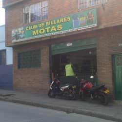 Club de billares motas en Bogotá