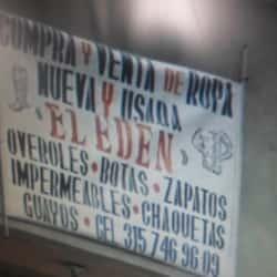 Compraventa de ropa el eden en Bogotá