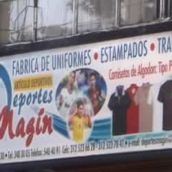 Deportes Magin en Bogotá