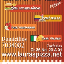 Laura's Pizza en Bogotá