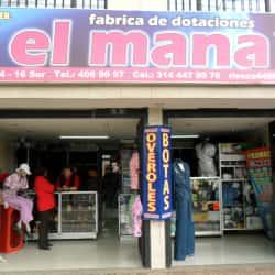 Fábrica de Dotaciones El Mana en Bogotá