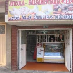 Salsamentaria MyC en Bogotá